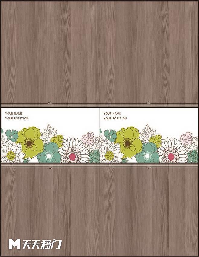 木纹花纹花朵移图 sep-1308