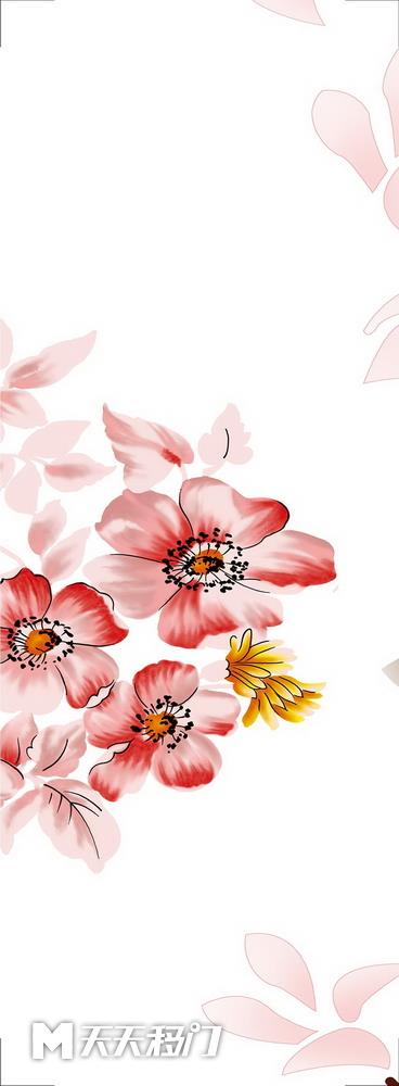 移图 s639-水彩花-1
