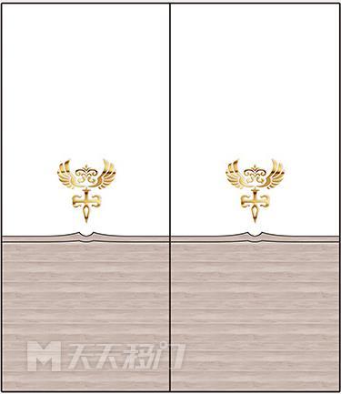 袁木纹理、横线、黄色图案移图 tr3397