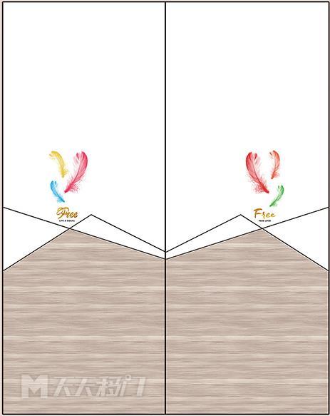 羽毛、字母、斜线、三角、原木、纹理、移图 tr3411