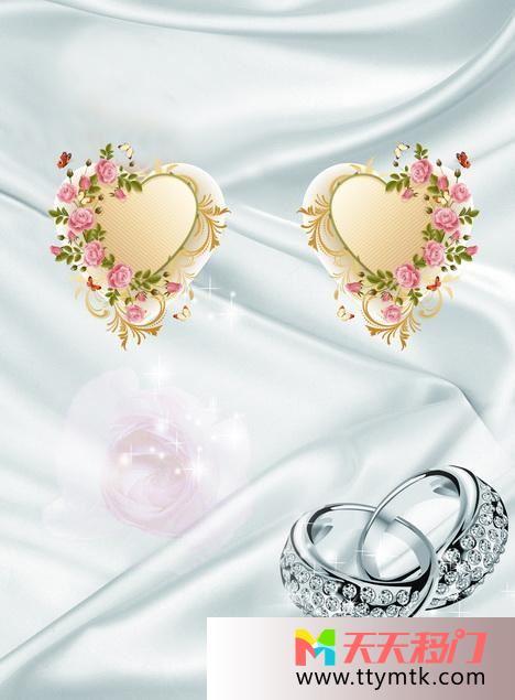 戒指钻石花移图 钻石与戒指TXM612
